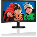 Monitor Philips LED 223V5LSB2/10 21.5 inch Negru