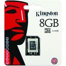 Card Kingston Micro SDHC 8GB Clasa 4 SDC4/8GBSP