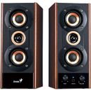 Sistem audio 2.0 Genius SP-HF800A 20W Cherry wood