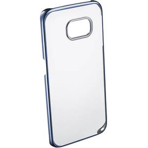 Husa Protectie Spate Cellular Line CLEARCRYGALS6EB Crystal Rigid Blue pentru Samsung Galaxy S6 Edge