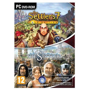 Joc PC Ubisoft Settlers 7 Paths to a Kingdom Gold + Settlers Rise of an Empire