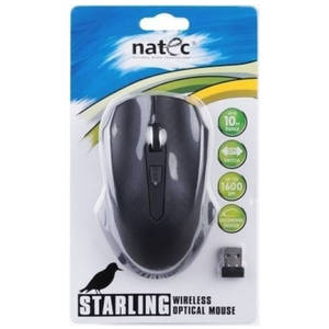 Mouse Natec Optical Wireless STARLING Black