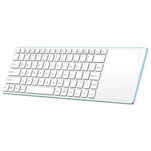 Tastatura Rapoo Bluetooth E6700 Touchpad White / Blue