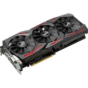 Placa video Asus nVidia GeForce GTX 1080 STRIX GAMING DCUIII OC 8GB DDR5X 256bit