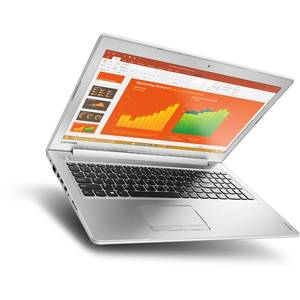 Laptop Lenovo IdeaPad 510-15ISK 15.6 inch Full HD Intel Core i7-6500U 4GB DDR4 500GB HDD nVidia GeForce 940MX 4GB White