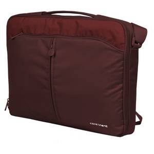 Geanta laptop Continent CC-02 Simple Classic v.2 15 - 16 inch cranberry