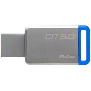 Memorie USB Kingston DataTraveler 50 64GB USB 3.1 Blue