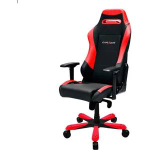 Scaun gaming DXRacer OH/IS11/NR Iron Black / Red