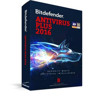 Antivirus BitDefender Plus 2016  5 useri 1 an