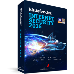 BitDefender Internet Security 2016  1 user 3 ani