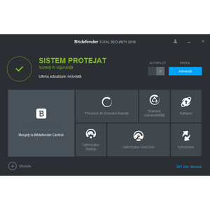 Antivirus BitDefender Total Security 2016 1 user 1 an