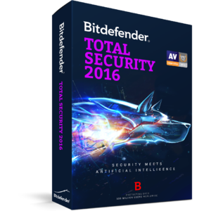 Antivirus BitDefender Total Security 2016 1 user 3 ani
