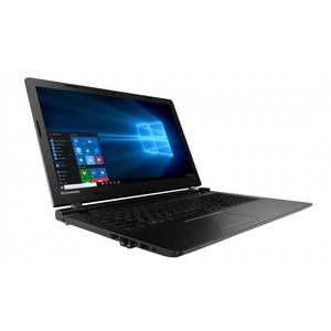 Laptop Lenovo IdeaPad 100-15 15.6 inch HD Intel Core i3-5005U 4GB DDR3 500GB HDD Windows 10 Black Renew