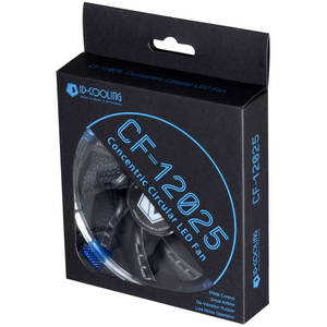 Ventilator ID-Cooling 120mm Concentric Circular Blue LED