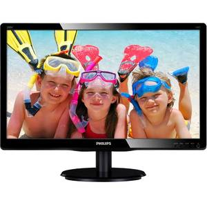 Monitor Philips LED 200V4LAB2/00 19.5 inch 5ms Black