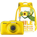 Coolpix W100 13.2 Mpx zoom optic 3x subacvatic Backpack Kit Yellow