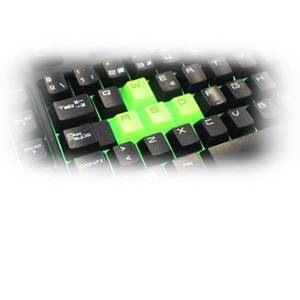 Tastatura Keepout Gaming F89CHE Neagra