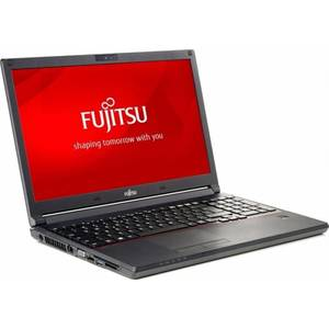 Laptop Fujitsu Lifebook E556 15.6 inch Intel i5-6200U 8GB DDR4 SSD256 Black