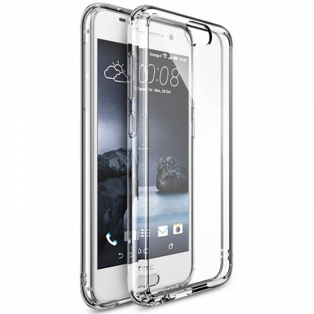 Folie protectie Ringke pentru HTC One A9 Fusion - capac crystal view + folie