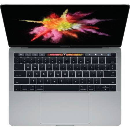 Laptop Apple MacBook Pro 2016 13.3 inch Quad HD Retina Intel Core i5 2.9GHz 8GB DDR3 256GB SSD Intel Iris 550 Mac OS Sierra Space Grey INT keyboard