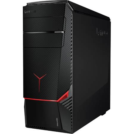 Sistem Desktop PC Lenovo IdeaCentre Lenovo Intel Core i7-6700 3.40 GHz 16GB 1TB+256GB SSD GeForce GTX1070 8GB Mouse+Tastatura